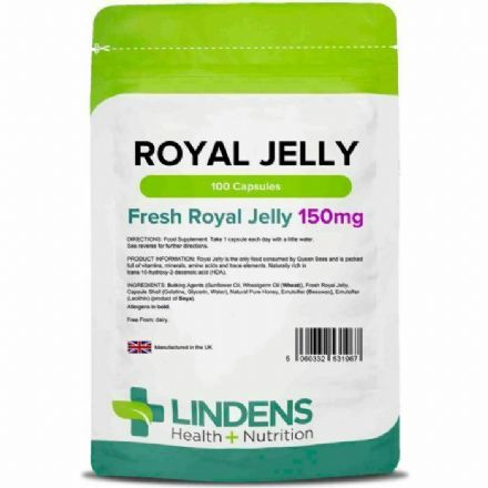 Royal Jelly 150mg x 100 Capsules; Lindens